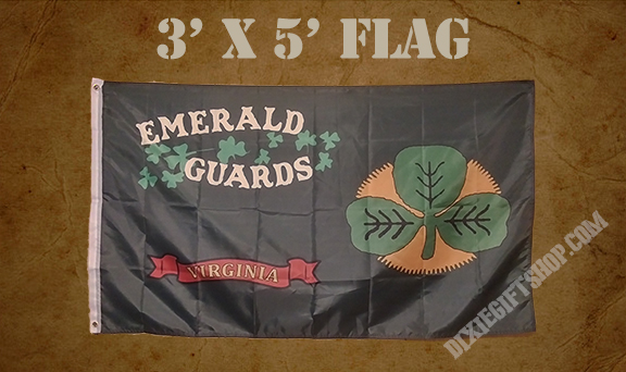Flag - 33rd Virginia Emerald Guards
