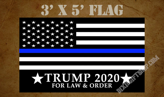 Flag - TRUMP Law & Order