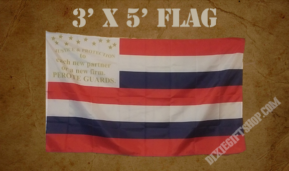 Flag - 1st AL Infantry Co. D - Perote Guards