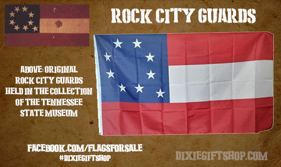 Nashville Rock City Guards Flag