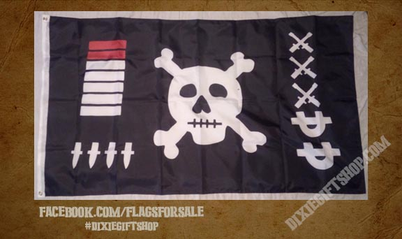 WWII Jolly Roger Flag