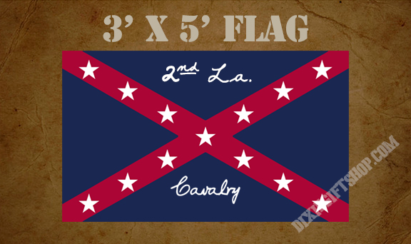 Flag - 2nd Louisiana Cavalry