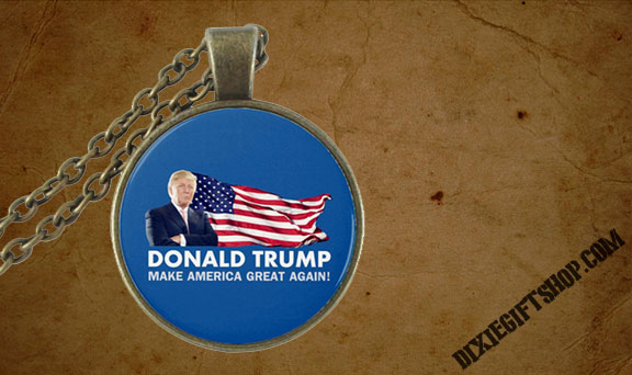 Trump MAGA Necklace