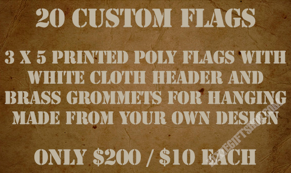 20 Custom Flags