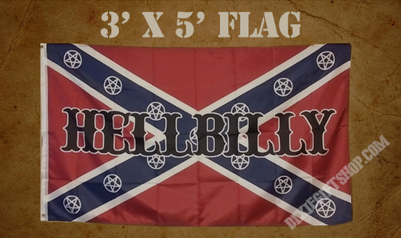 Flag - Rebel Hellbilly