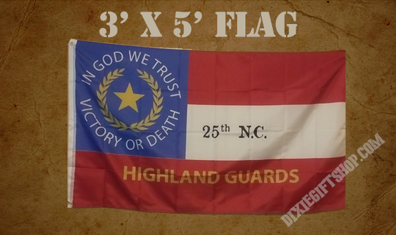 Flag - 25th NC Infantry Co. G - HIghland Guards