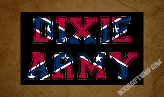 Rebel - Dixie Army Flag