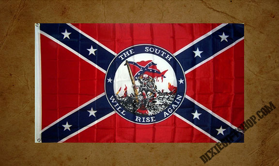Rebel - The South Will Rise Again Flag
