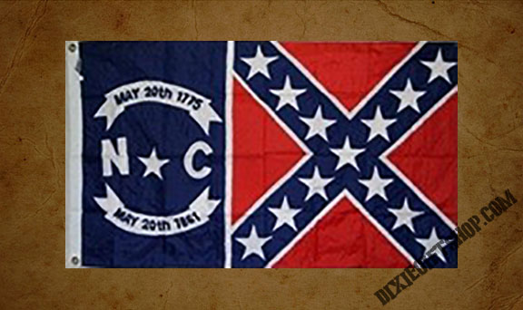 Rebel - North Carolina / Rebel Flag