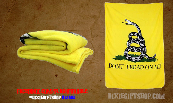 Gadsden Dont Tread on Me Blanket