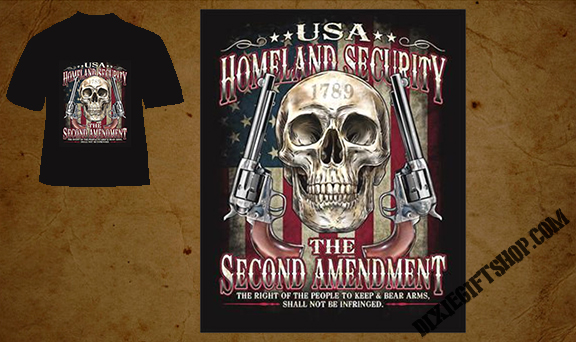 Homeland Security 2A TShirt