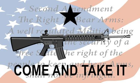 Gonzales - 2nd Amendment Flag