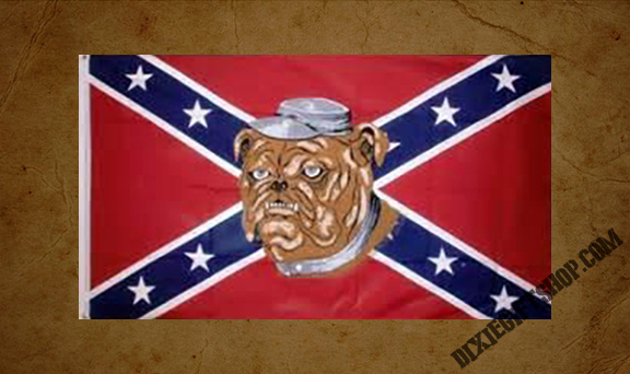 Rebel - Bulldog Flag