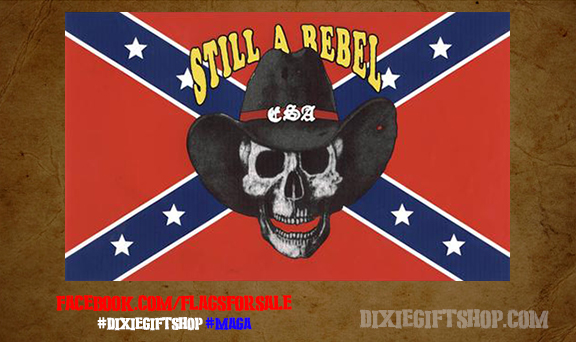 Still a Rebel Flag