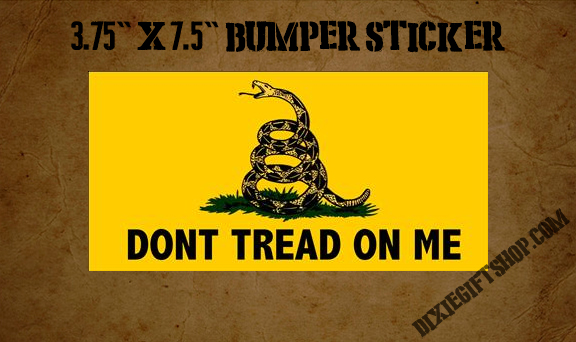 Sticker - Gadsden Flag