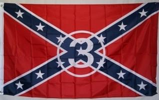 Rebel - Dale Earnhardt Sr 3 Flag