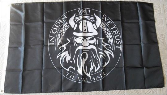 In Odin We Trust Flag