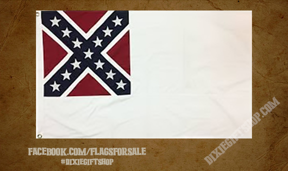 2nd Confederate National Flag - Cotton
