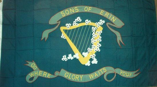 "10th Tennessee ""Sons of Erin"" Regiment Flag"