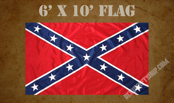 Confederate Army of Tennessee Battle Flag (6x10)