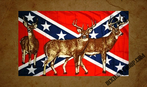 Rebel - Deer Flag