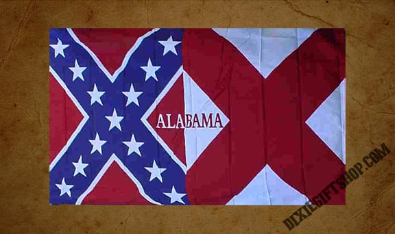 Rebel - Alabama / Rebel Flag