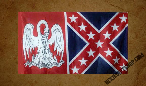 Rebel - Louisiana / Rebel Flag