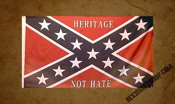Rebel - Heritage Not Hate Flag