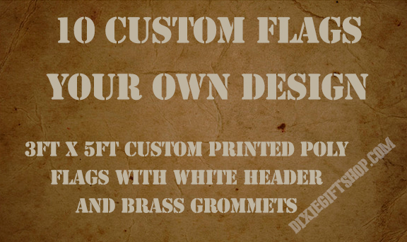 10 custom flags
