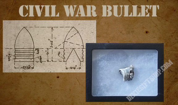 Dug Civil War Bullet