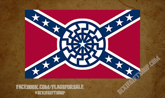 Rebel - Black Sun Flag
