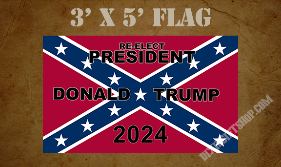 Flag - Rebel Trump 2024