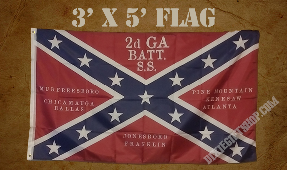 Flag - 2nd Georgia Battalion Sharpshooters