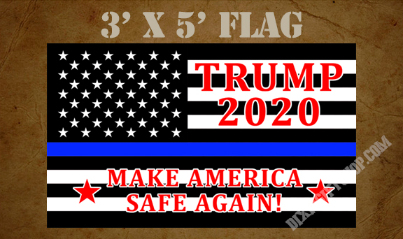 Flag - TRUMP Make America Safe Again