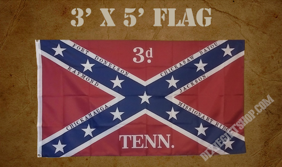 Flag - 3rd Tennessee Infantry Confederate