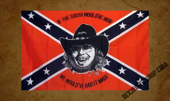 Rebel - Hank Jr Flag