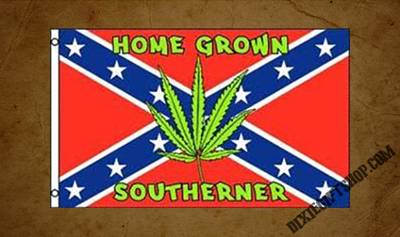 Rebel - Home Grown Southerner Flag