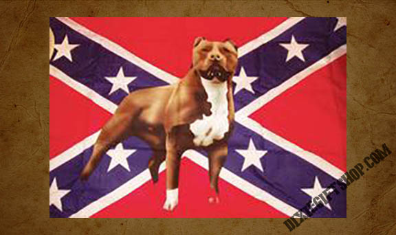 Rebel - Pitbull Flag