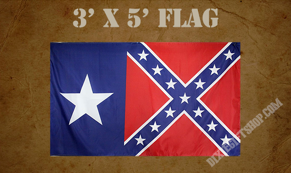 Flag - Confederate / Texas