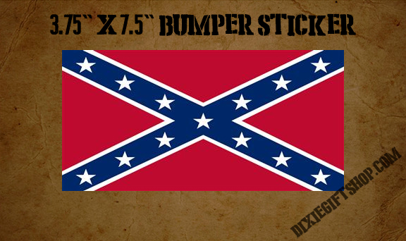 Sticker - Rebel Flag