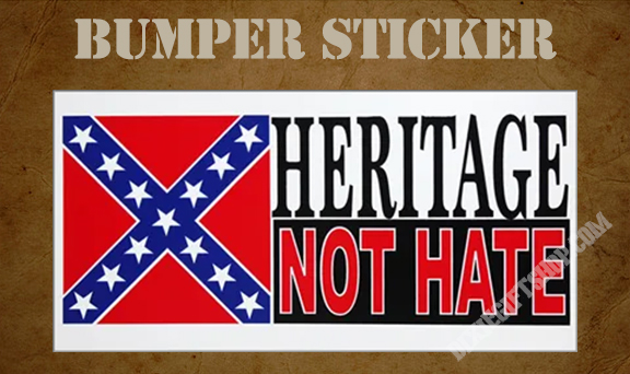 Sticker - Heritage Not Hate