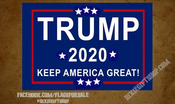 TRUMP 2020 Keep America Great Flag