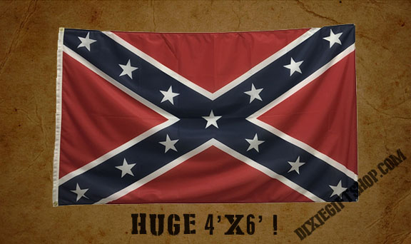Confederate Army of Tennessee Battle Flag (4X6)
