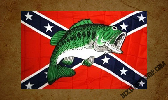 Rebel - Fish Flag
