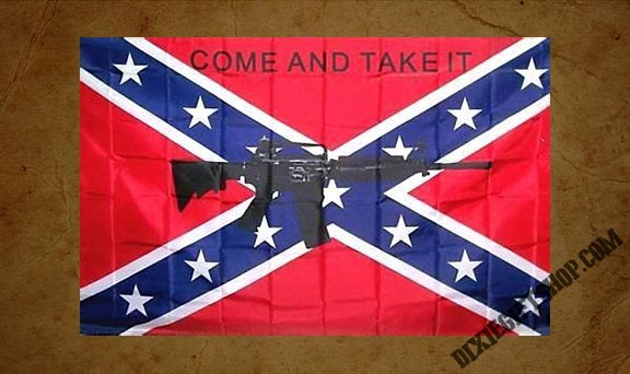 Rebel - Come and Take It Gonzales Flag