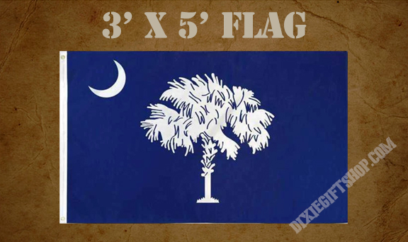 Flag - South Carolina State 1861 - Present